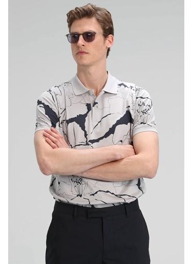 Lufian Lamas Spor Polo T- Shirt   Taş